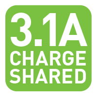 3.1A Charged Shared